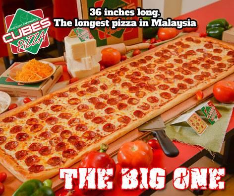 Cubes pizza food delivery subang jaya malaysia