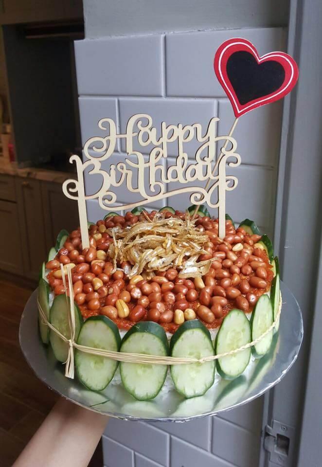 Nasi Lemak Cake