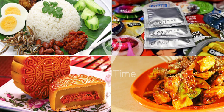 Weird Malaysian food combinations