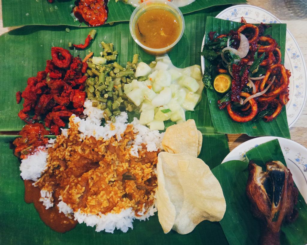 Banana Leaf Rice Malaysia Foodtime